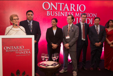 Premier's Mission to India Will Open Doors for Ontario Businesses